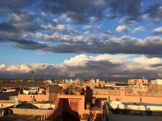 Riad Shambala: Rooftop view