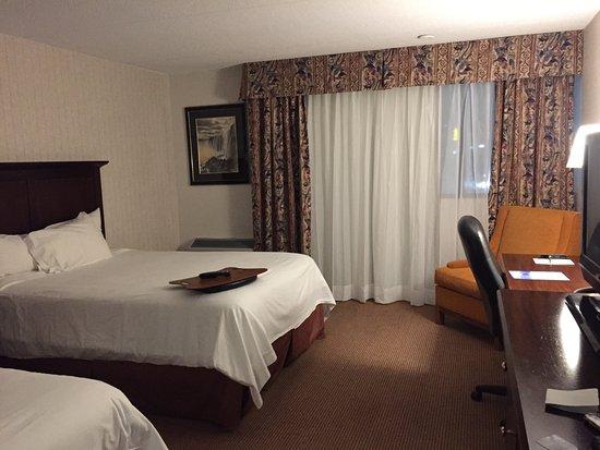 La nostra camera con 2 letti King Size... comoda e caldissima ...