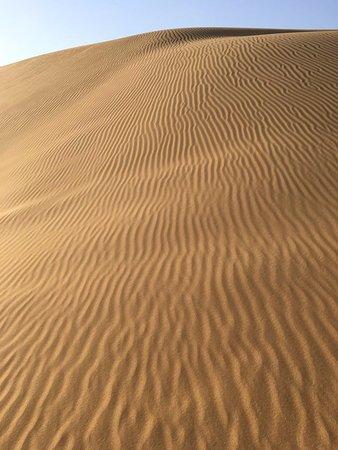 Dalate Qi, Kina: desert