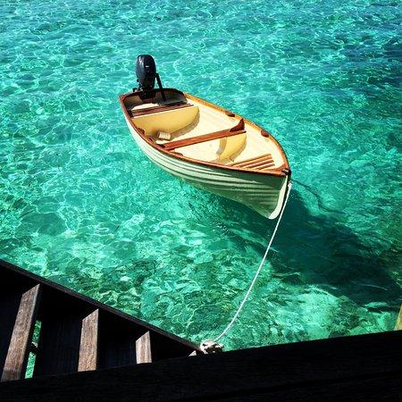Gili Lankanfushi Maldives: Private boat