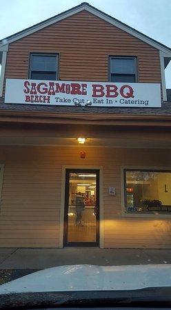 Sagamore Beach, Μασαχουσέτη: Restaurant
