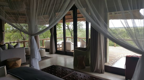 Leopard Hills Private Game Reserve, Sudáfrica: Our relaxing lounge