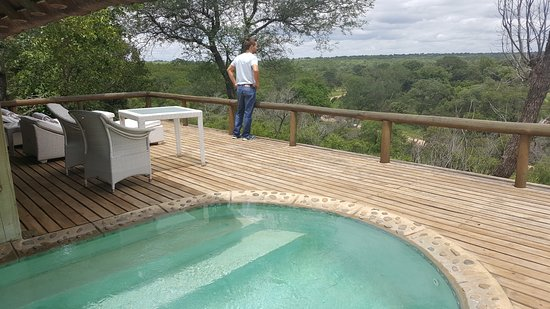 Leopard Hills Private Game Reserve, Sudáfrica: The amazing deck