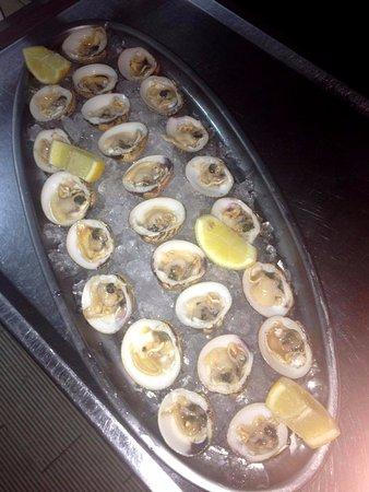 Pueblo Nuevo de Guadiaro, Spania: frische Austern