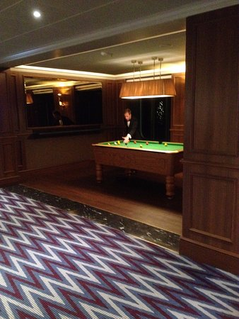Pool Table Picture Of Tall Ships Cruises Cruise Management - How tall is a pool table