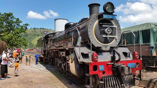 Umgeni Steam Railway: Wesley a.k.a. Umgeni Steam Train at the Inchanga Station