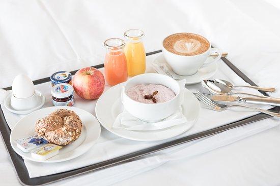 Frühstück Am Bett frühstück ans bett - picture of placid hotel design & lifestyle