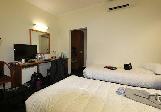 Comfort Hotel Perth City: CHAMBRE