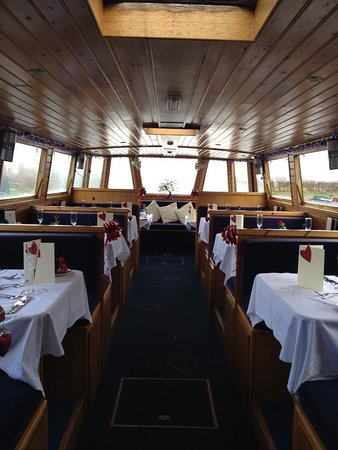 Canal Boat Cruises of Riley Green: Romance Restaurant Boat