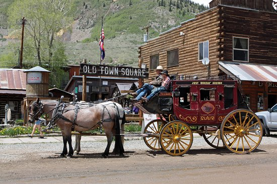 Silverton, CO: Old Town Square