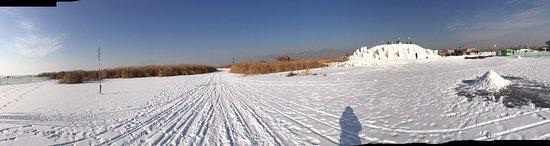 Tumotezuo Qi, China: 哈素海景區