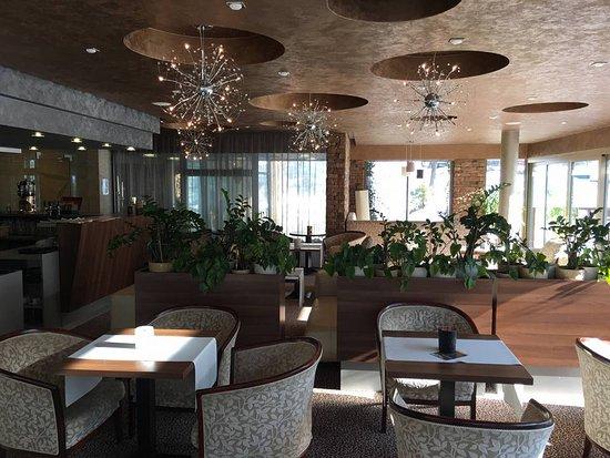 Vyhne, Slovakia: Lobby bar