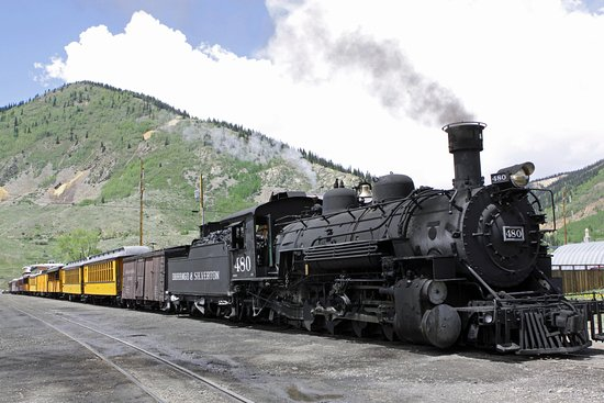 "Le ""Durango and Silverton Narrow Gauge Railroad"""