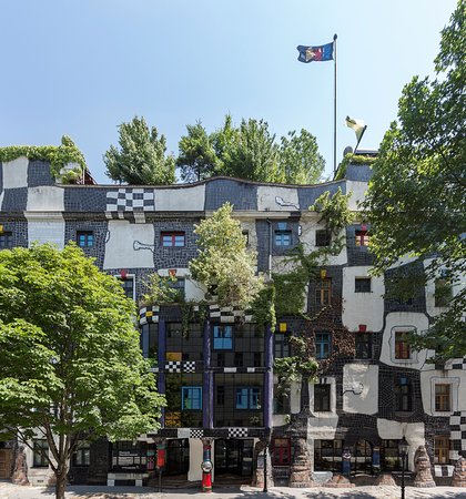 Kunst Haus Wien - Museum Hundertwasser: Hundertwasser Museum at KUNST HAUS WIEN in the 3rd district of Vienna (c) Eva Kelety