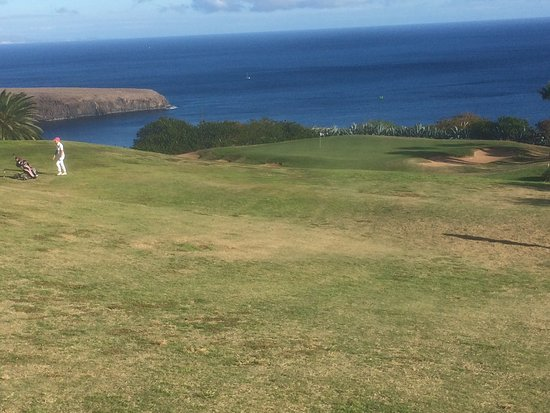 Tecina Golf: Blick auf Grün 12