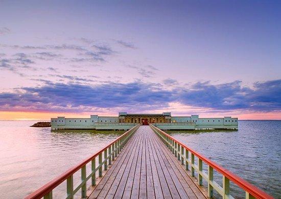 Malmö, Zweden: Ribersborgs Kallbadhus