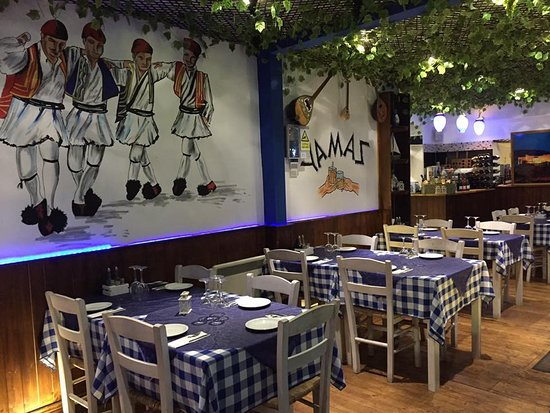 Yamas Greek Restaurant Sheffield Restaurant Reviews