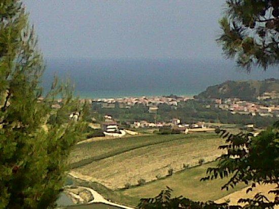 Servigliano, Włochy: la vista