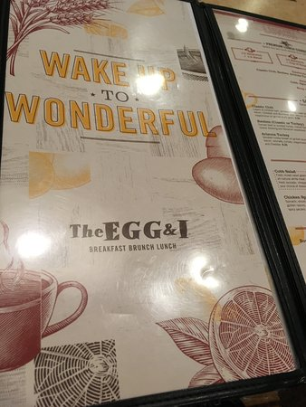 Menu Picture Of The Egg And I Coral Springs Tripadvisor