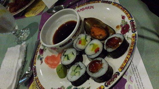 Mandarin Restaurant: Sushi