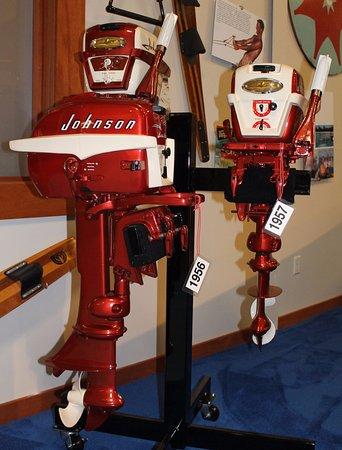 Alexandria, Minnesota: Johnson outboard motors.