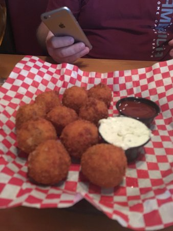 Newt's: Potato poppers A+