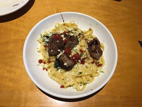 Pasta at Olive Garden