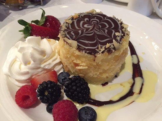 Parker's Restaurant: The one and only, original Boston Cream Pie.