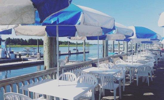 Dockside Restaurant: South Deck