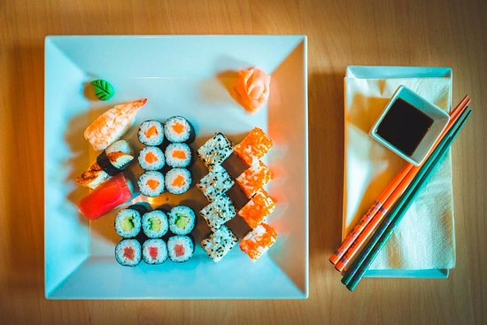 Litomysl, Czech Republic: Sushi set pro dvě osoby