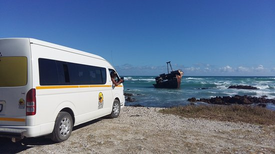 Stoked School of Surf Lessons & Surf Trips: During the trip to Cape Agulhas