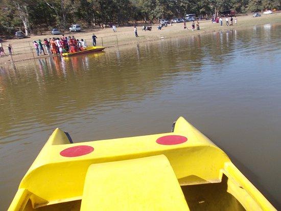 Bhandara, India: Boating at Rawanwadi