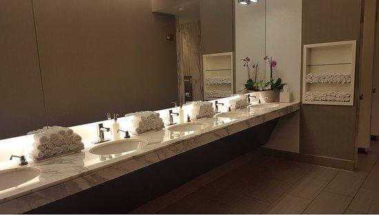 Hotel Arista at CityGate Centre : Women's Bathroom in Lobby