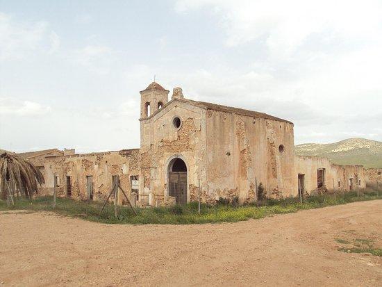 Nijar, Spania: Vista del Cortijo del Fraile.