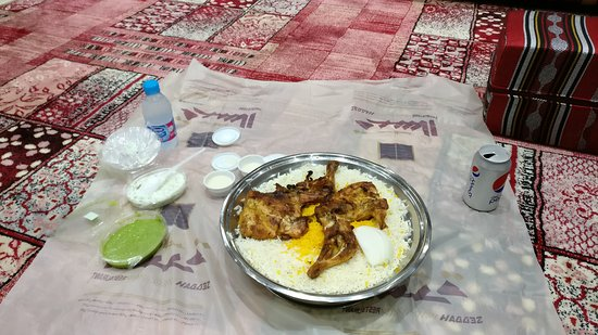Al Seddah Restaurant: Typical saudi food