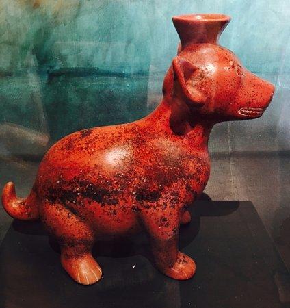 Colima, México: Un exemple de figurine de terre cuite.