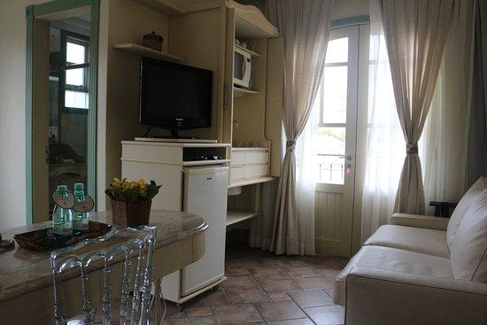 Villas Jurere – Hotel Boutique: Sala da Suite