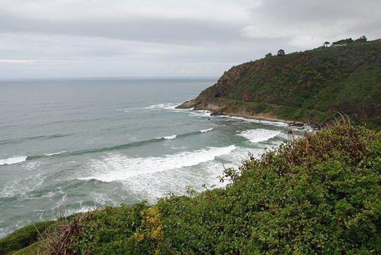 rechte Begrenzung vom Strandabschnitt bei Wilderness