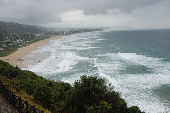 Wilderness, Sør-Afrika: toller langer Strand