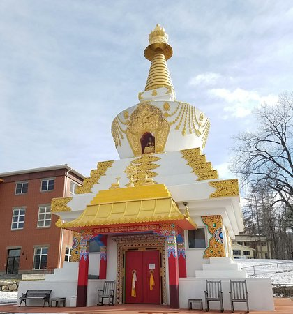 Wappingers Falls, NY: Kagyu on a winter day