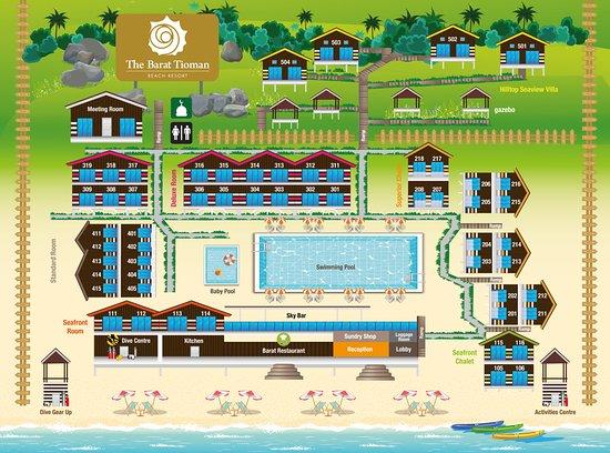 The Barat Tioman Beach Resort  Pulau Tioman  Malaysia