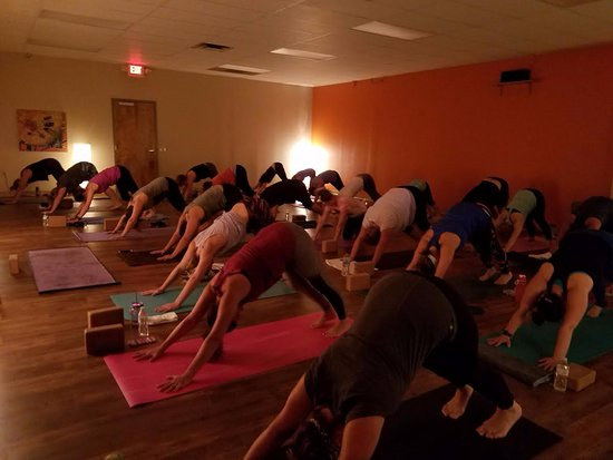 Grove City, OH: practice yoga in our beautiful, spacious studio with knowledgeable and caring instructors.