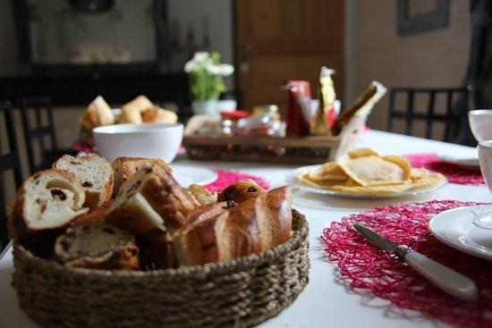 Vertou, France : Le petit déjeuner