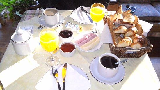 Posada Tantra: desayuno
