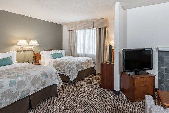 Hawthorn Suites By Wyndham Fishkill/Poughkeepsie Area: Double Double Studio Suite