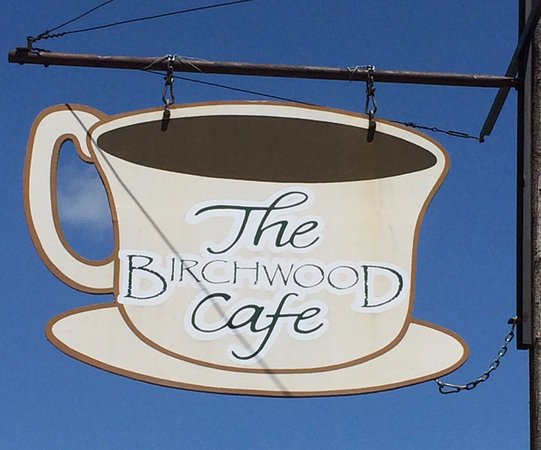 Enjoy a cup of coffee and a hot breakfast at The Birchwood Cafe.