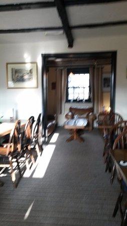 The Moorcock Inn: Room near bar