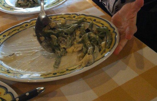San Marco D'Alunzio, Italia: Pasta ortiche