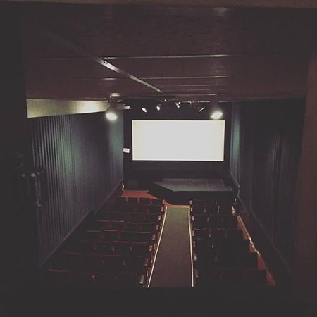 Port Orchard, WA: View from the projection booth