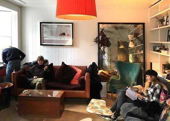Monachyle Mhor: Lounge